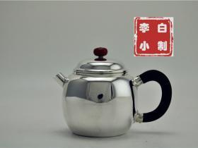 国家级工艺美术大师级纯银泡茶壶