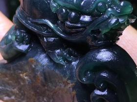 原石活雕龙头龟