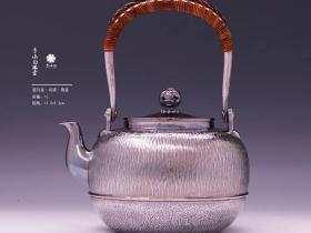 李小白银壶纯银望月壶