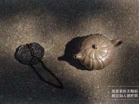 范泽锋紫砂作品《禅墩·唯想》