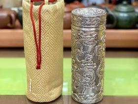 李小白浮雕九龙杯