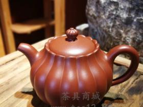 汤宣武紫砂壶作品花蕊
