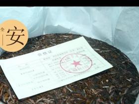 醉春秋普洱茶的合格证上究竟有什么?