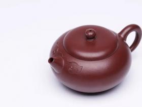 汤宣武紫砂壶作品诸事顺意