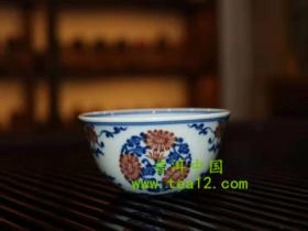 小雅柴窑青花瓷的作品特点