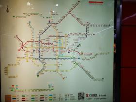 广州地铁线路图
