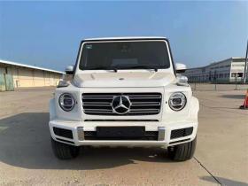 奔驰G500白/棕20款报价
