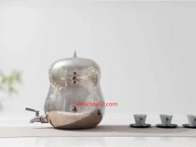 纯银葫芦水缸