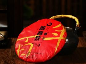 布朗山核心产区:醉春秋百年普洱茶生茶