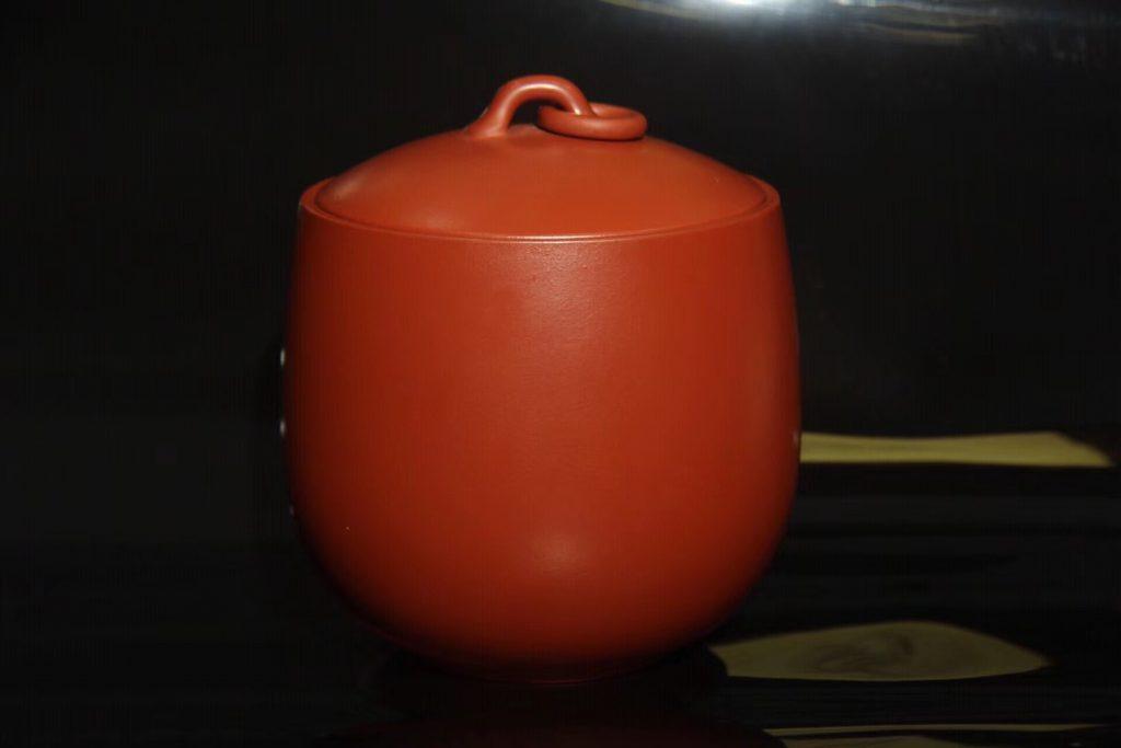 汤宣武大红袍茶叶罐