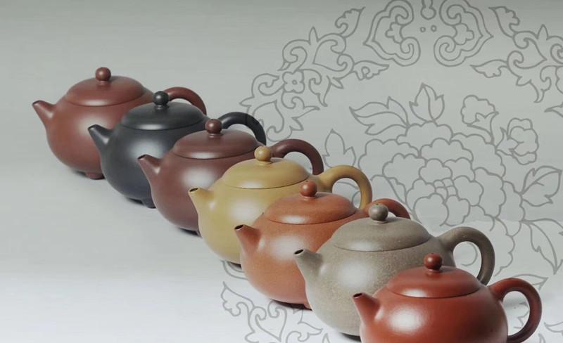 汤宣武紫砂壶·七喜