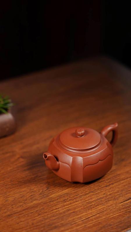 汤华刚紫砂壶作品祥云系列