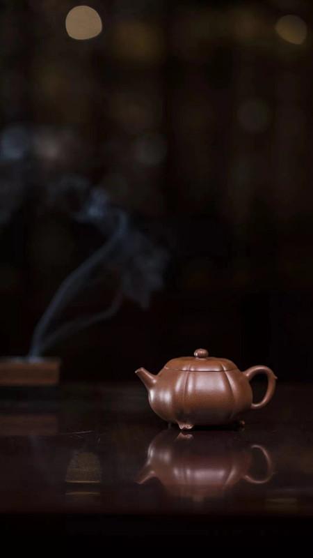 范泽锋紫砂壶作品禅墩·北斗七星·天枢