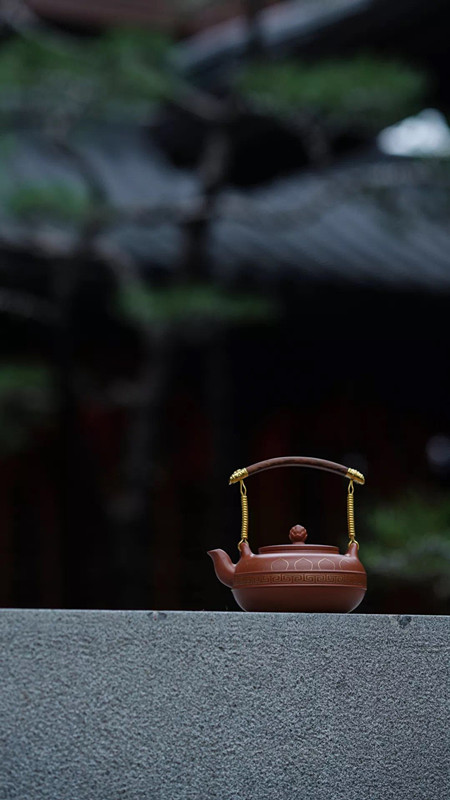 范泽锋紫砂壶作品禅泉·般若·立尊