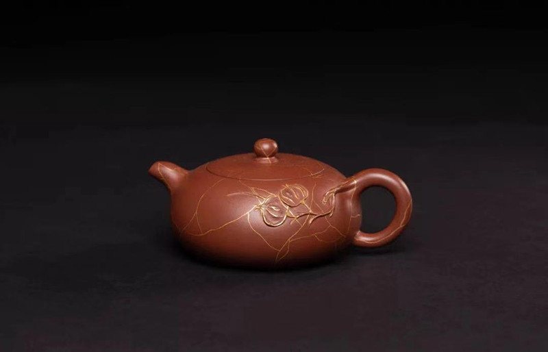 汤宣武紫砂壶作品素秋