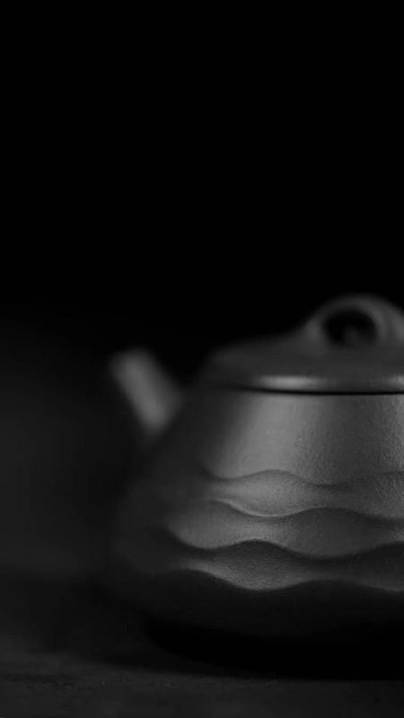 汤宣武紫砂壶作品玉露华浓