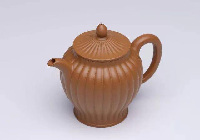 汤宣武紫砂壶作品静观
