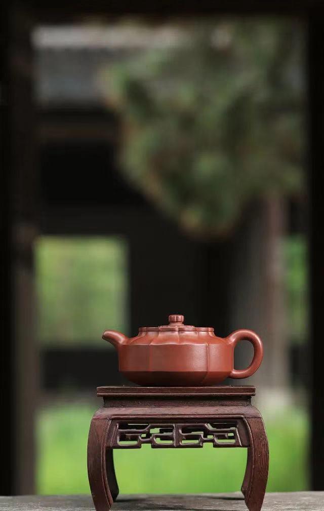 宜兴名家范泽锋禅墩朝歌紫砂壶作品
