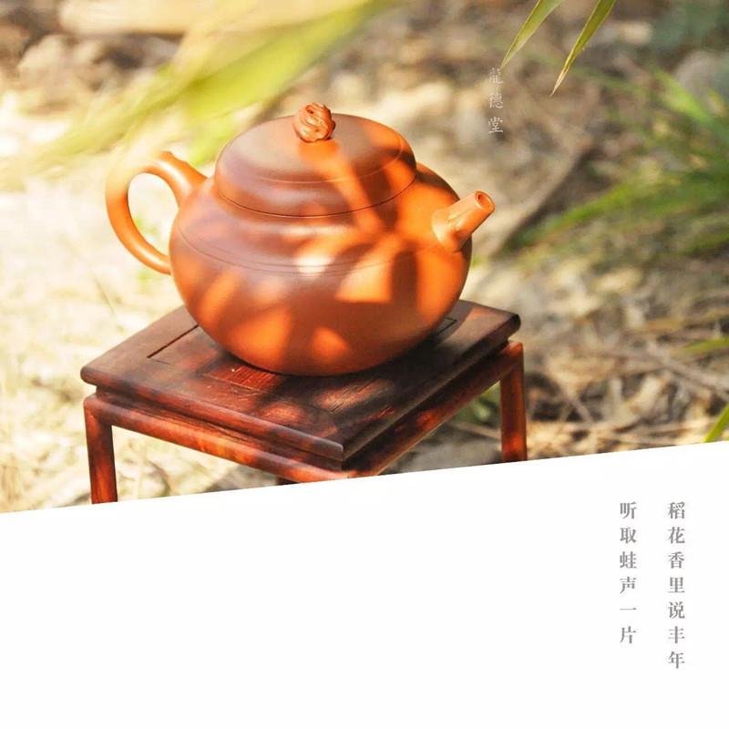 汤宣武紫砂壶作品丰茂