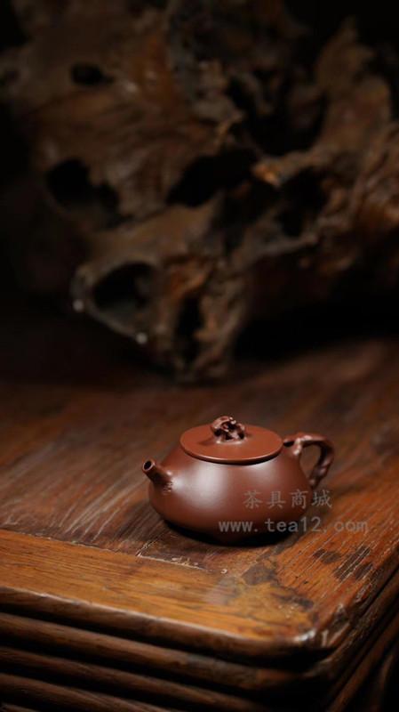 陈宗宝紫砂壶作品山亭柳