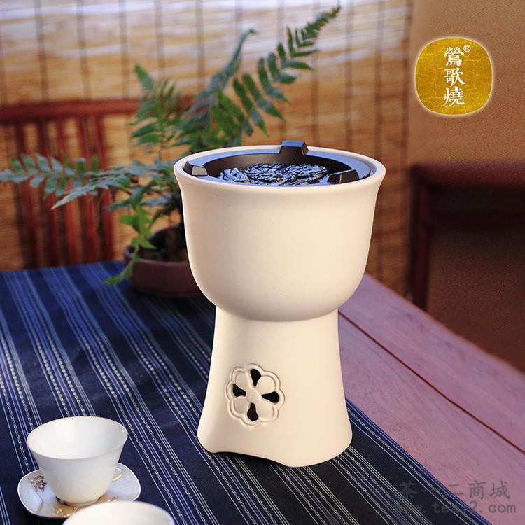 台湾莺歌烧电陶炉菊窗电气炭白泥炉