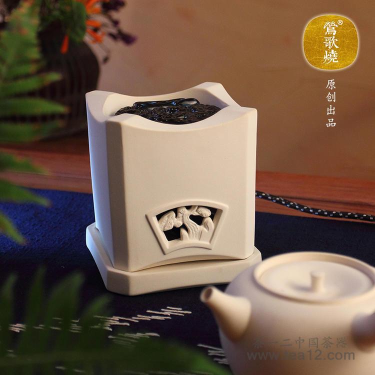 台湾莺歌烧电陶炉松石电气炭白泥炉