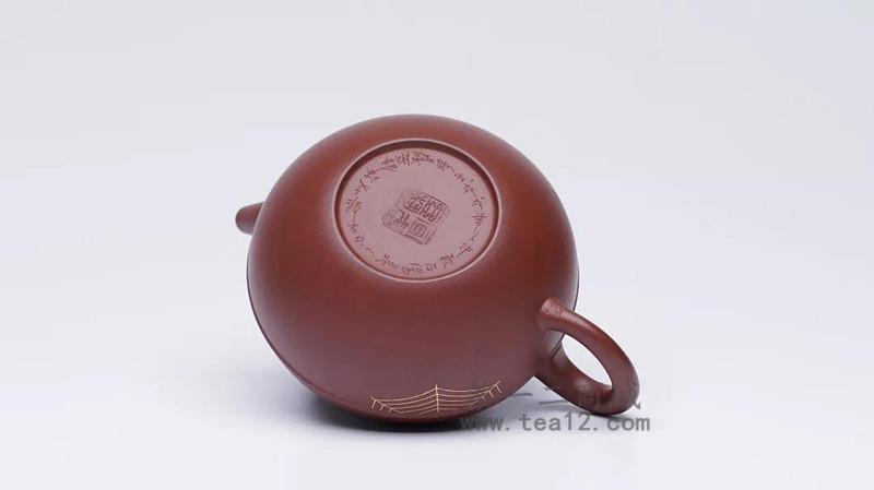 汤宣武紫砂壶作品喜从天降·地喜
