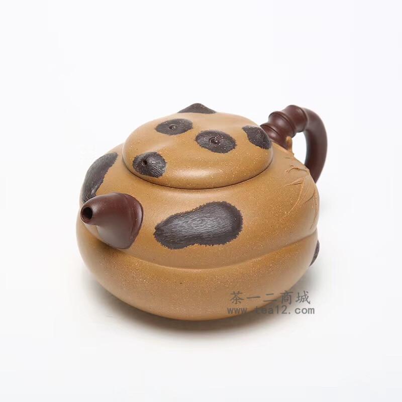 徐飞紫砂壶作品熊猫