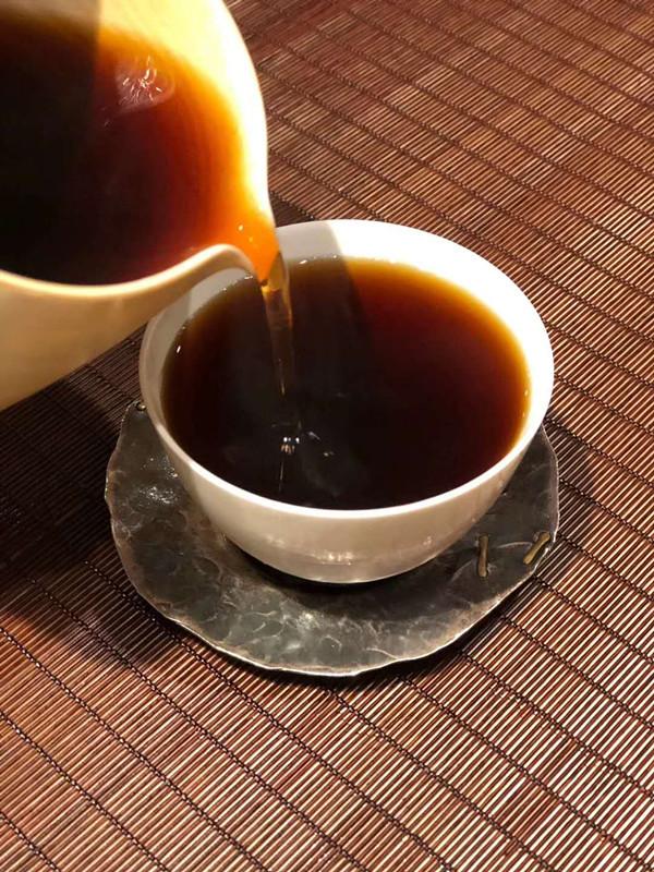 普洱茶回甘