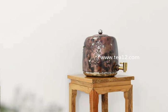 木棉花开铜包银缸