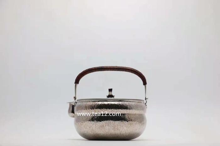 兔毫纹葫芦银壶,银壶价格