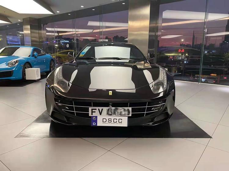 广州进口车广州牌12缸法拉利猎装版极品车两台