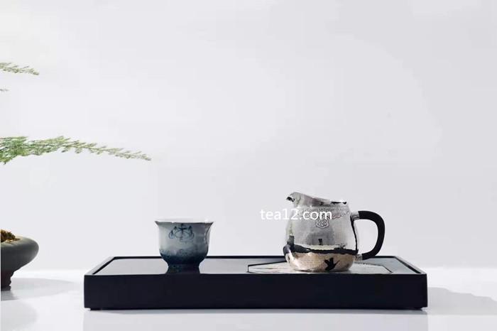 银杯莲花六度瓷包银