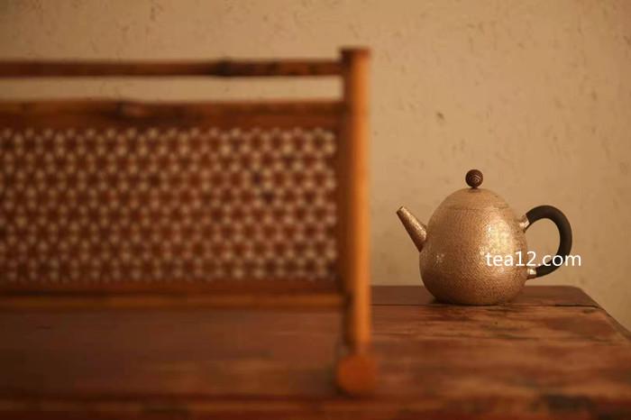 银壶龙蛋泡茶银壶