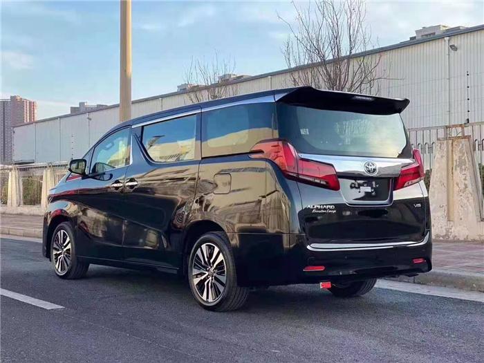 丰田埃尔法2.5L中规油电国六全国落户报价