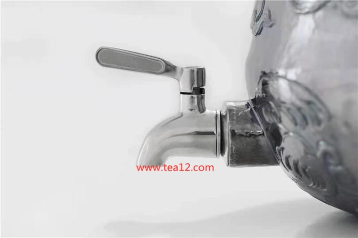 纯银云龙纹水缸