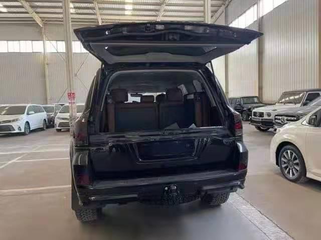 丰田酷路泽V8柴油4500 D4D 黑金刚真皮刺绣报价