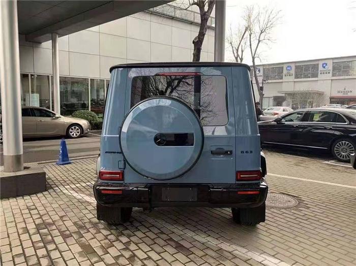 奔驰 AMG G63中规报价2020款