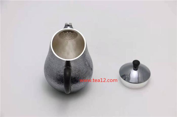 银壶纯手工唐美人泡茶壶